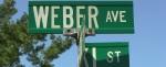 Weber Ave Sign